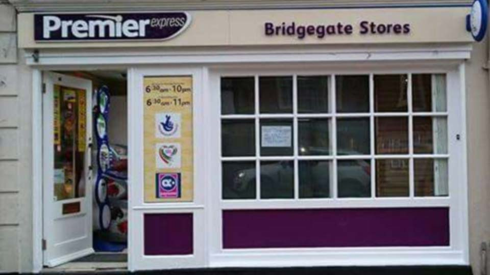 After shot of Commercial Painting of an Newsagents
